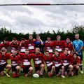 Under 16s lose to Harlow 17 - 61