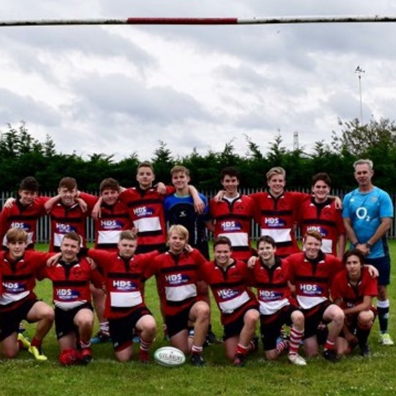 Under 16s beat Old Brentwood  53 - 10