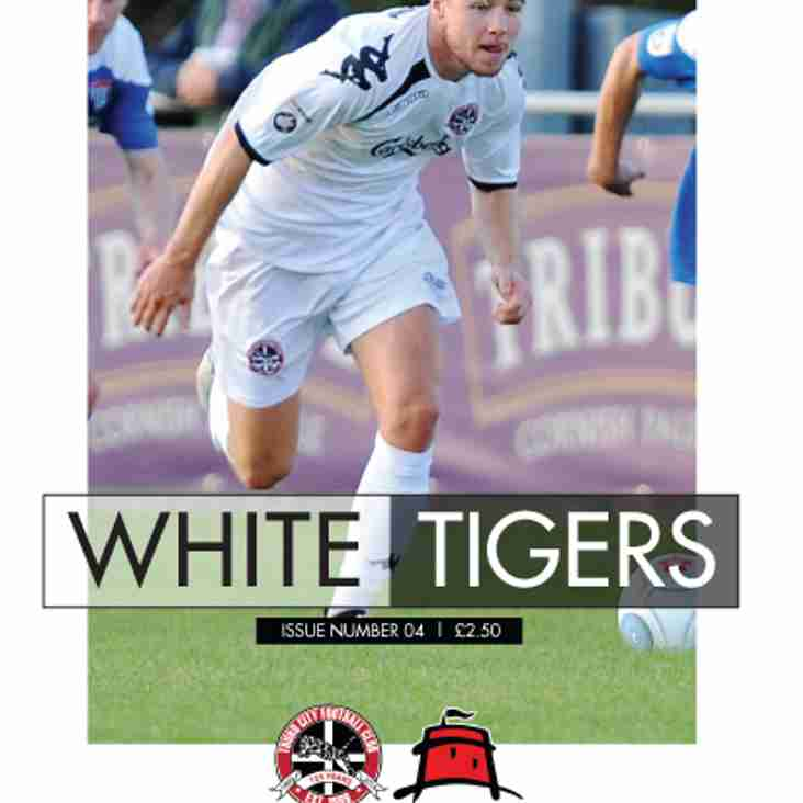 MATCHDAY PROGRAMME: Another action-packed issue on sale on Saturday