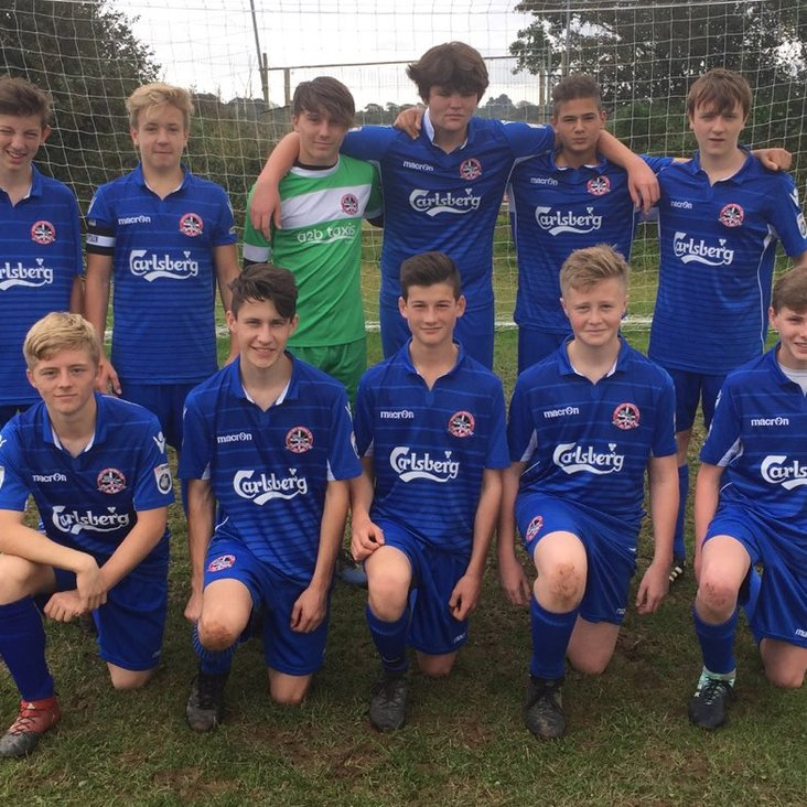 YOUTH: Entertaining start by the Under-16s<