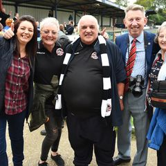 Hampton & Richmond Borough 0 Truro City 2 (Emirates FA Cup fourth qualifying round) 14.10.2017