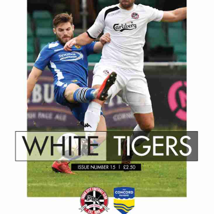 MATCHDAY PROGRAMME: Packed edition for your reading pleasure on Saturday