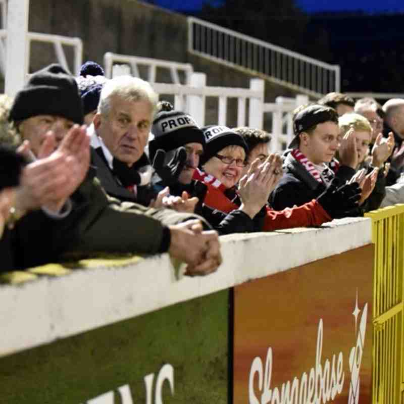 Bath City v Truro City (06.01.2018)