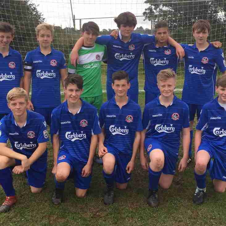 YOUTH: Hard-earned win for the under-16s