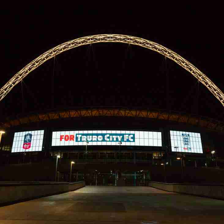 FA CUP FINAL: Wembley Stadium lights up for The White Tigers