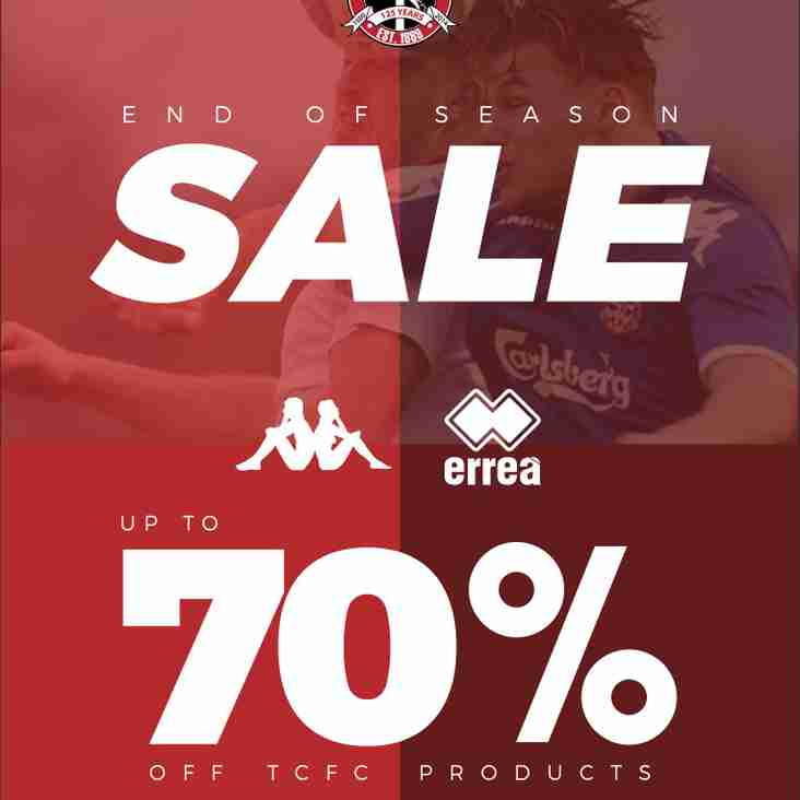 CLUB SHOP: Bargains galore