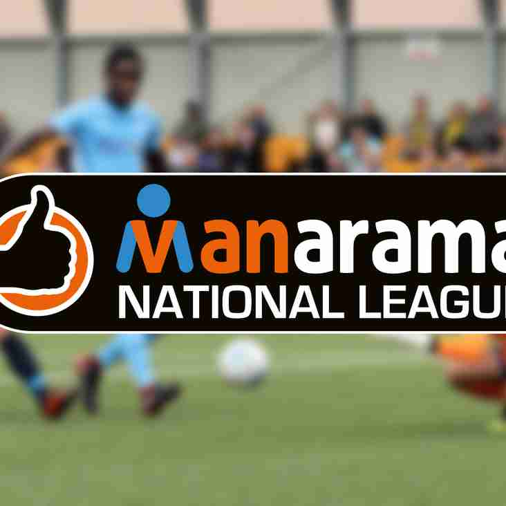 MANARAMA: National League supporting Prostate Cancer UK