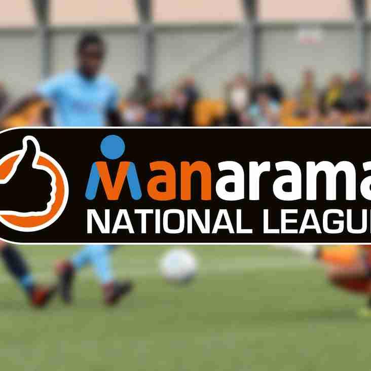 MANARAMA: National League supporting Prostate Cancer UK