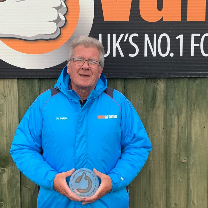 AWARD: Arthur takes Volunteer of the Month honour