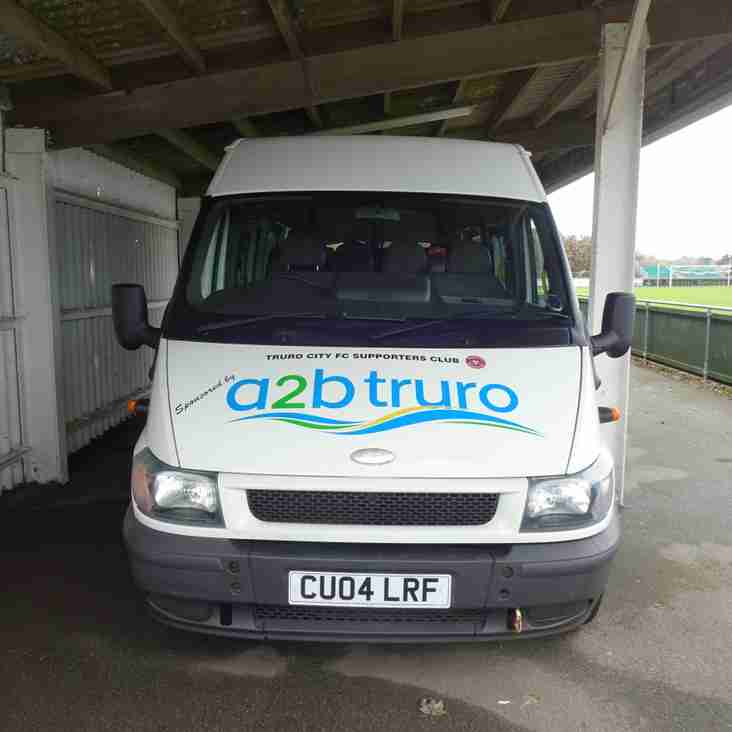 TRAVEL: Supporters Club minibus to Oxford City