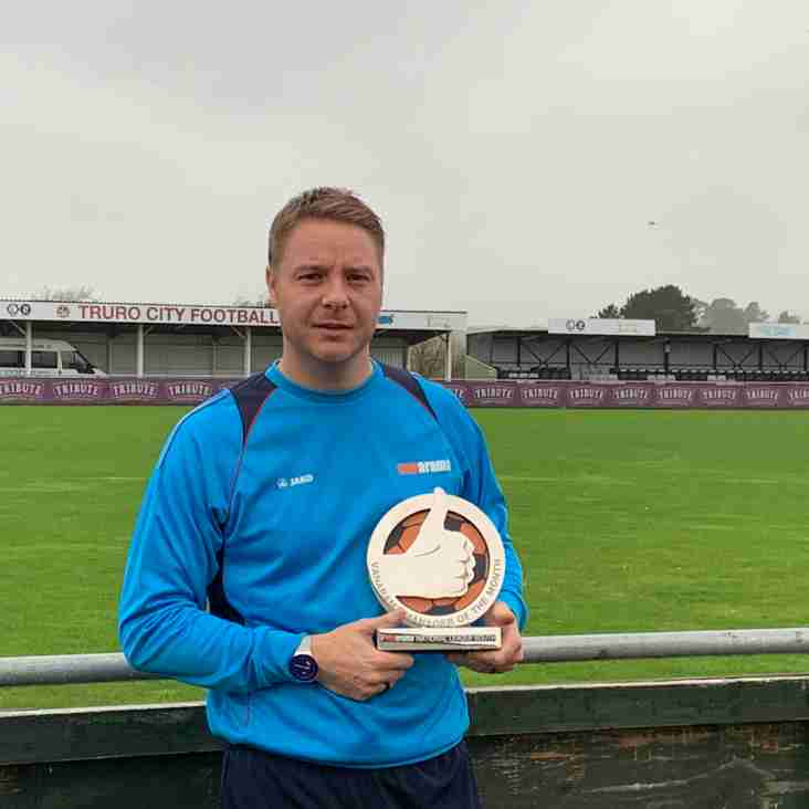 AWARD: Robinson wins Vanarama National League South Manager of the Month