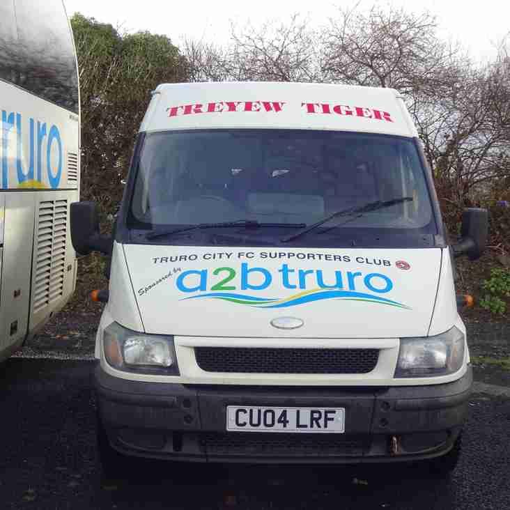 AWAY TRAVEL: Minibus to Chippenham Town