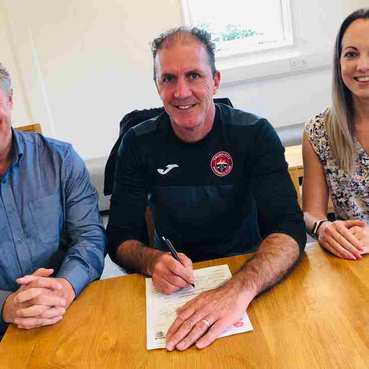 NEWS: Manager Paul Wilkinson signs two-year contract