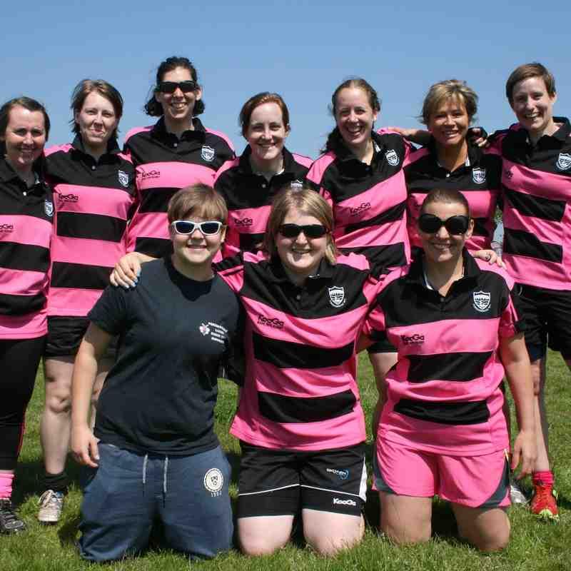 FRFC Ladies Touch event at Fareham RFC 18-05-14