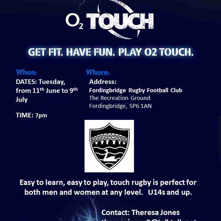 Summer Touch Series 2019