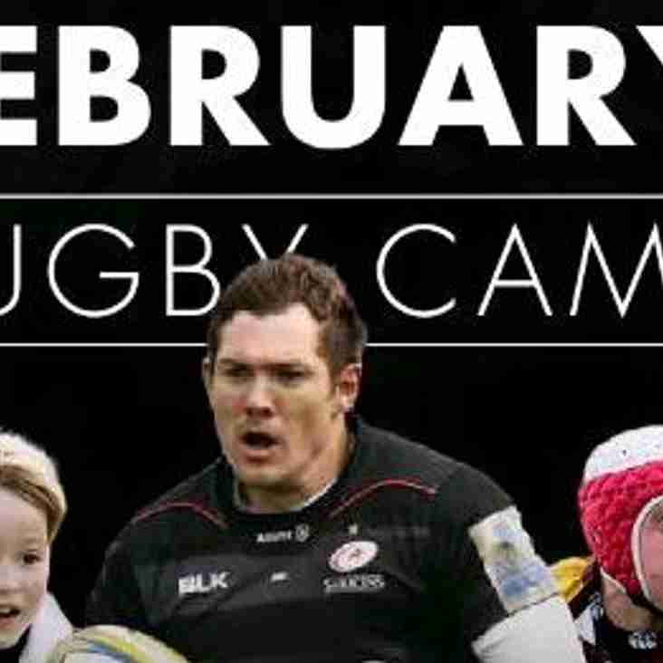 Half Term Rugby Camp