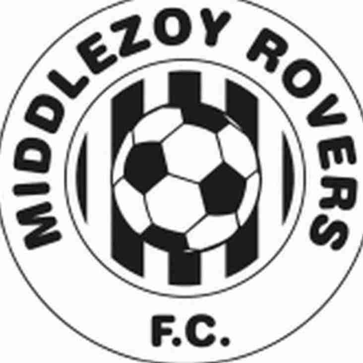 Middlezoy Are The Visitors To The Rec