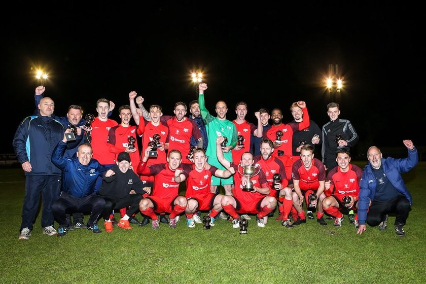 Binfield win the Floodlit cup!