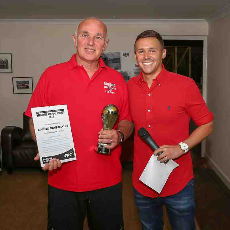 Football in Bracknell awards 2018