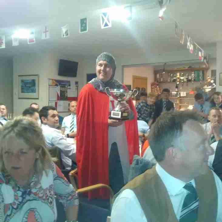 St George at the Dinner!