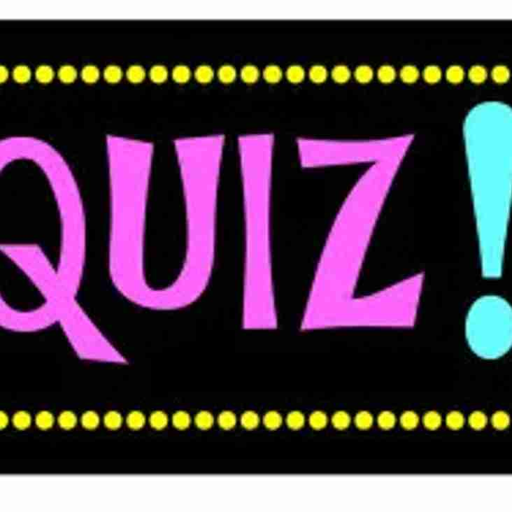 Weirs Quiz Night 2017