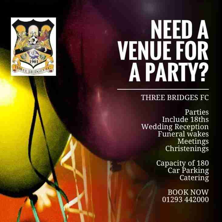 Need a venue for a party?