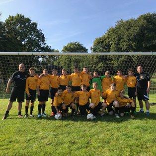 Three Bridges Youth U13  2-2  Hassocks Juniors Hawks U13