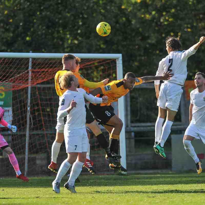 Three Bridges 1st vs East Grinstead Town 29.9.18
