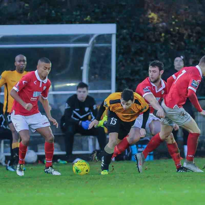 Three Bridges 1st vs Ramsgate 8.12.18