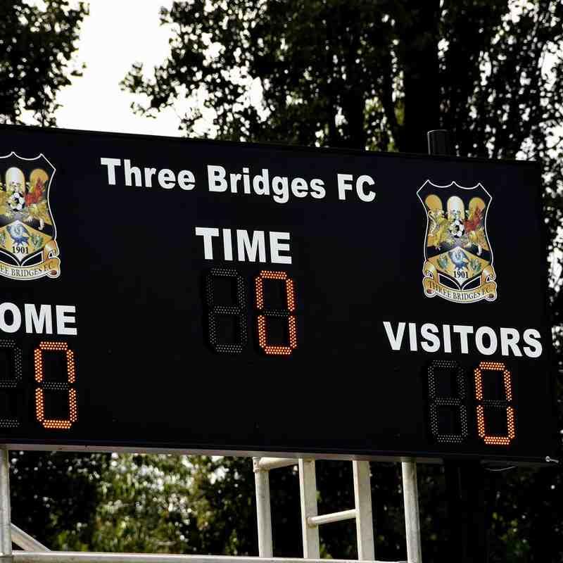 Three Bridges 1st vs Sevenoaks Town 17.8.19