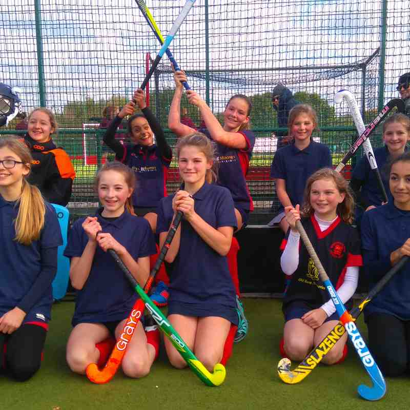 Girls U14 v Surbiton- Sun  6 Nov 2016