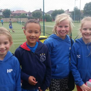 Successful start for Mini-reds in Point-One Tournament