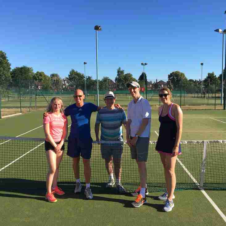 Annual Tennis Tournament Finals and Presentation Evening 2018