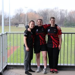 Rovers girls at North of England Trials