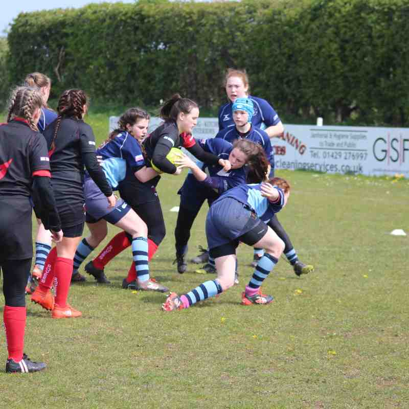 Rovers Girls Win at West Festival