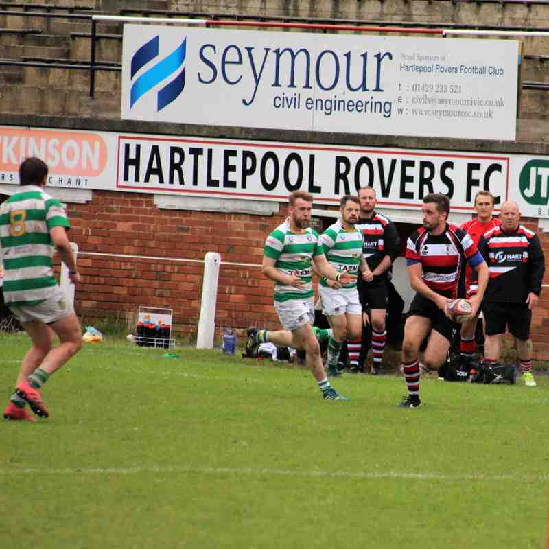 Rovers 1st v Gosforth 44-8 to rovers