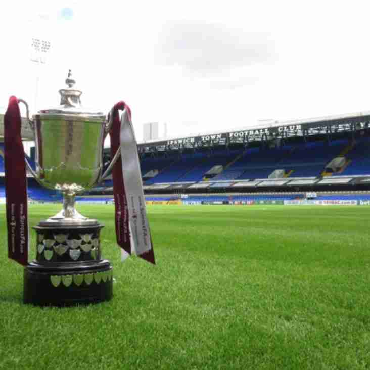 Bury to face Hadleigh in Premier Cup