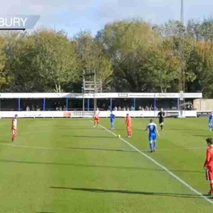 Match Highlights: Bury Town 3 Tilbury 0