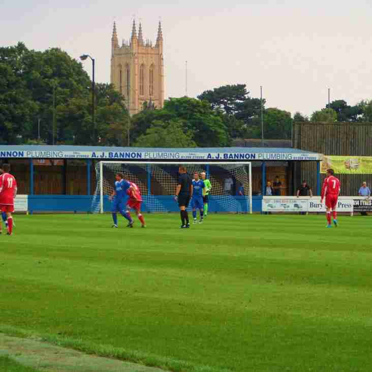 Today's match with Basildon goes ahead