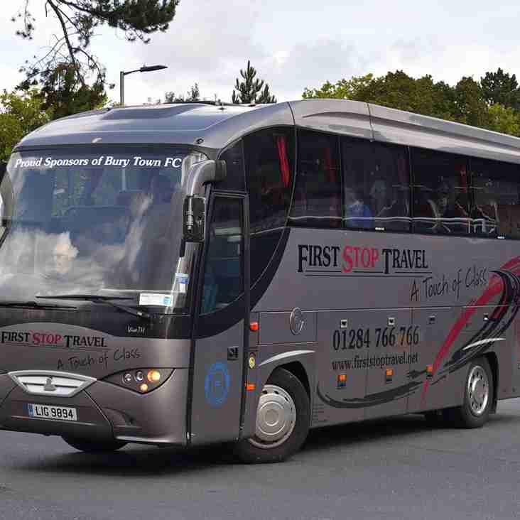 Supporters Bus for Boxing Day