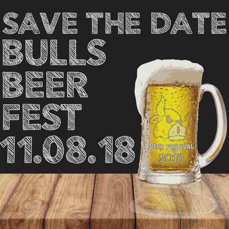 Get your Tickets NOW! Bulls Beer Festival 2018