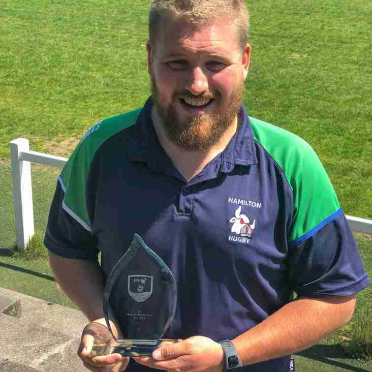 Alan Advances with Scottish Rugby
