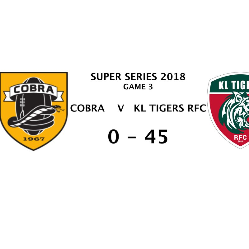 SUPER SERIES GAME 3