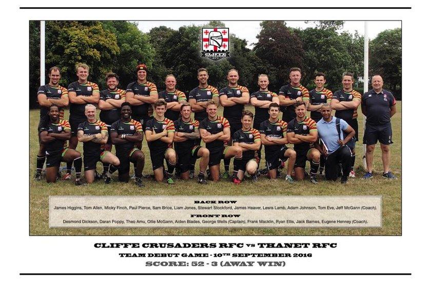 1st XV Team beat Aylesford II 12 - 33