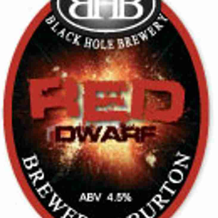 This weekend's cask ale - RED DWARF