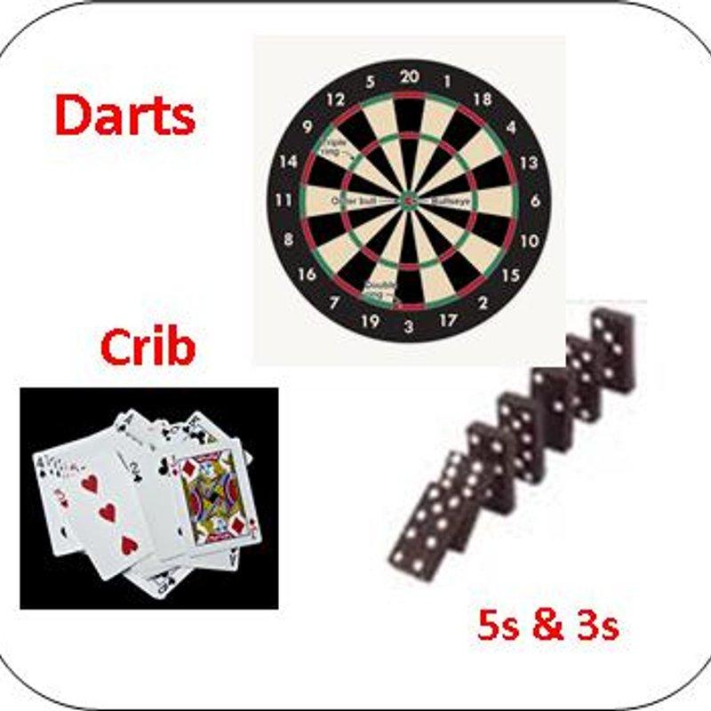 Darts, Crib & Dominoes v Coach & Horses