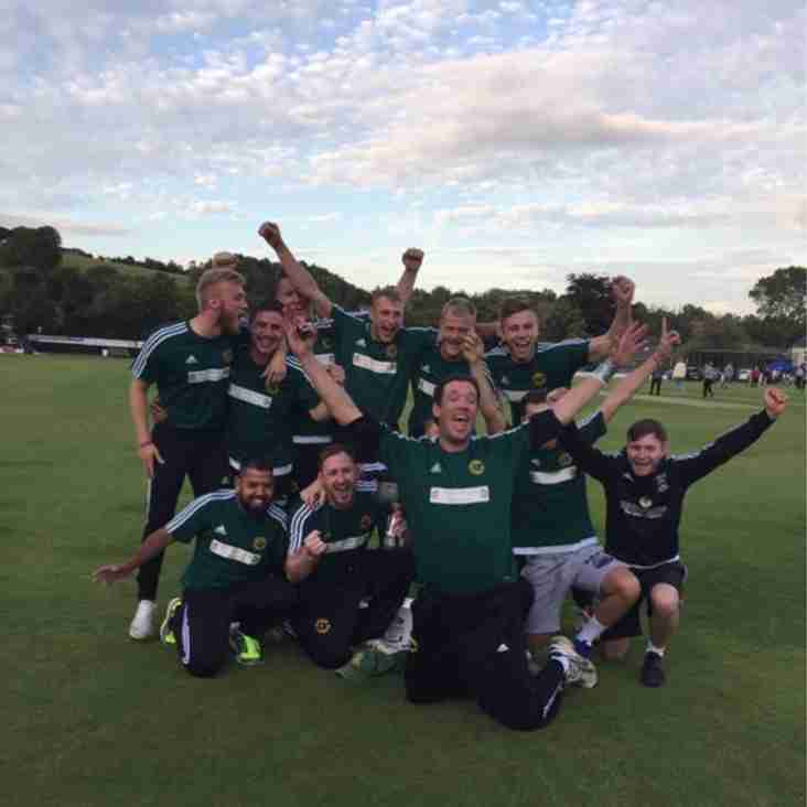 Moorside Mavericks are the JW Lees Pennine League T-20 Champions
