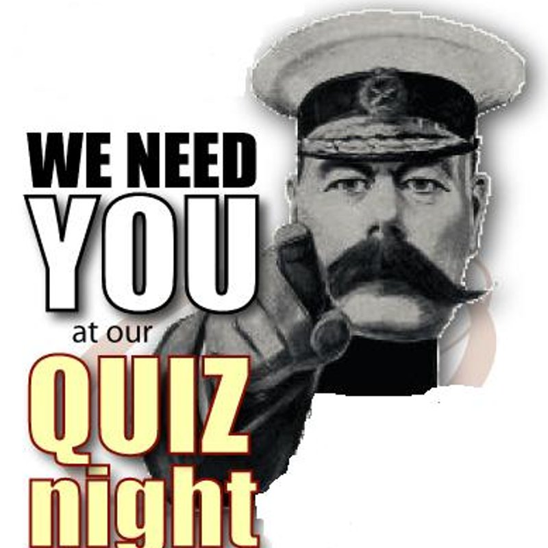 2nd Winter Quiz Night - Wednesday 5th December @ 8:30pm