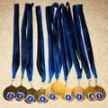 Belles 1 Hemel medals