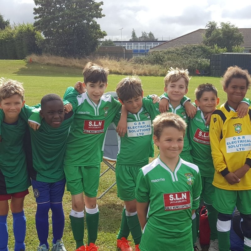 u11 Colts lose to Wycombe Saints